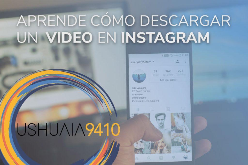 Aprende cómo descargar un video de Instagram
